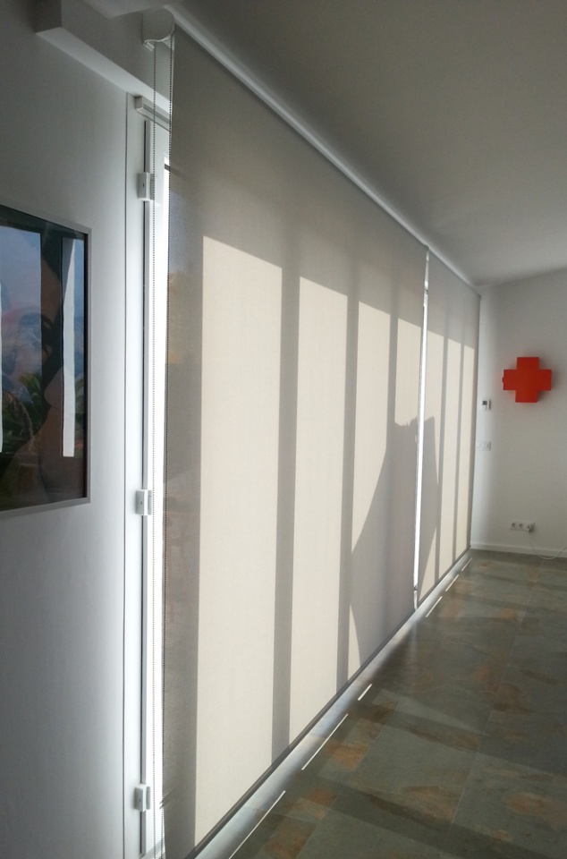 Full Length Polyscreen Roller Blinds