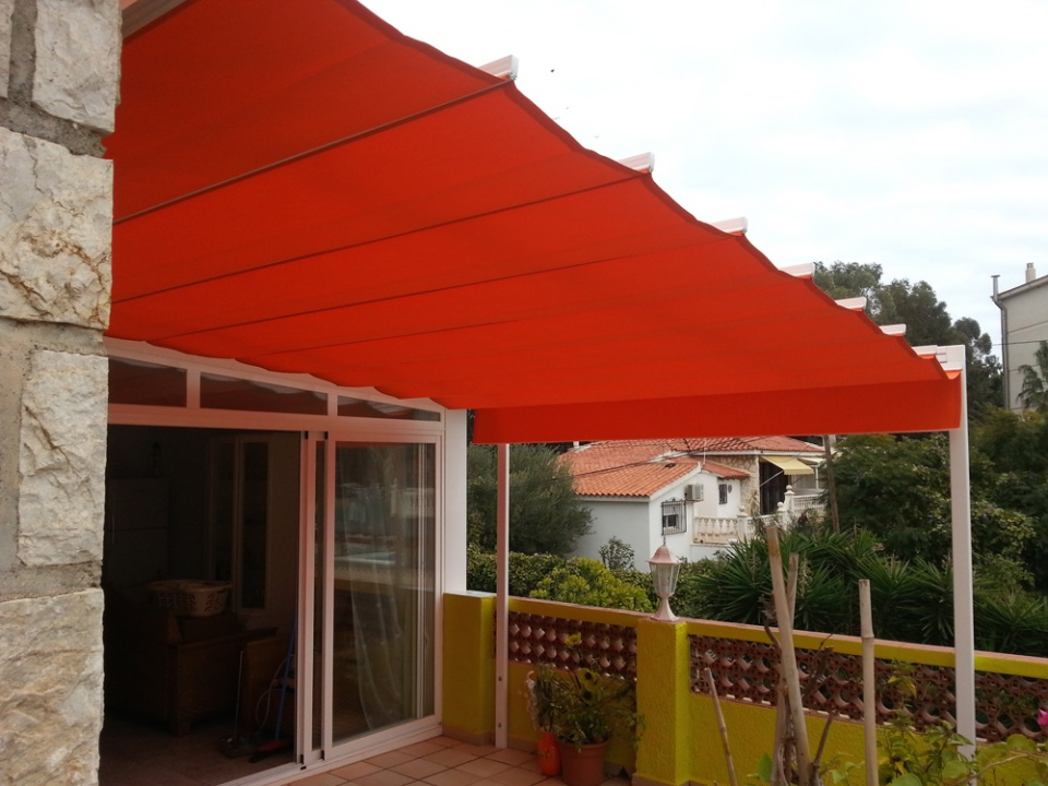 Concertina Awnings Vista Awnings And Blinds