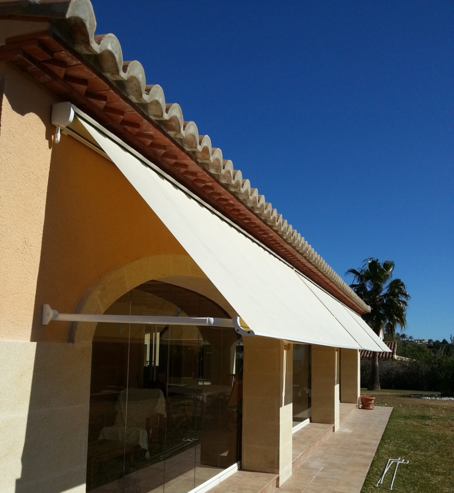 Drop Arm Awnings Vista Awnings And Blinds