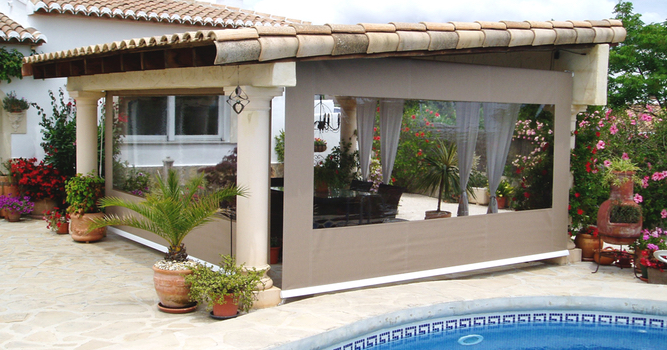 Drop Roller Awnings