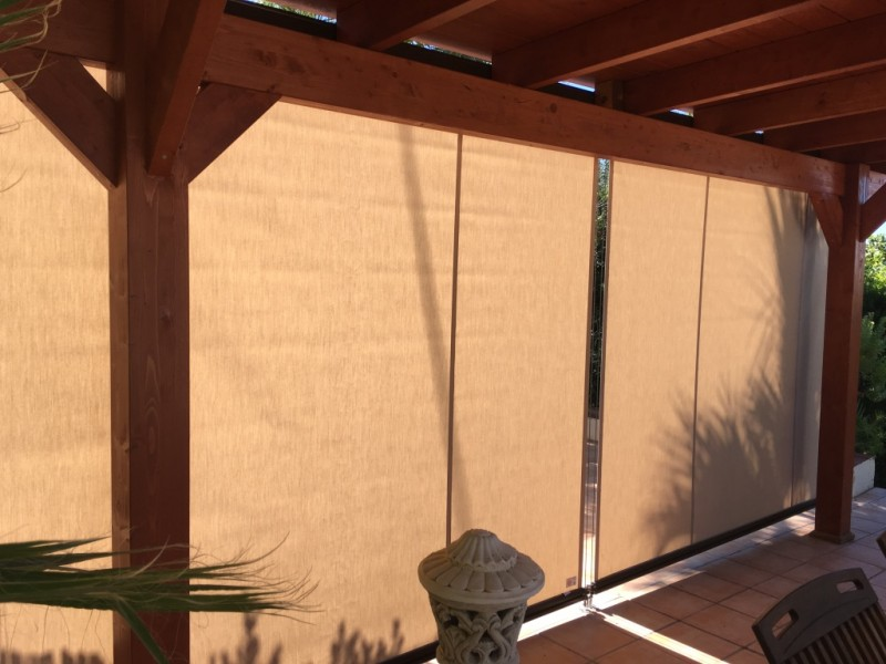 b6e1f47323fd Cabled-Guided Exterior Roller Blinds in Benissa Costa - Vista ...